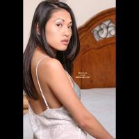 Asian Lana'S Playful Bedtime