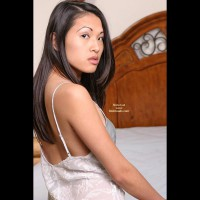 Asian Lana'S Playful Bedtime