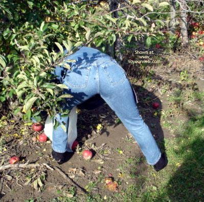 Pic #1 Melony Jane Apple Picking Part 1