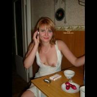 Hottie Gelia Drunk And Horny In The Kitchen