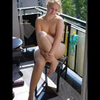 Naked At Balcony