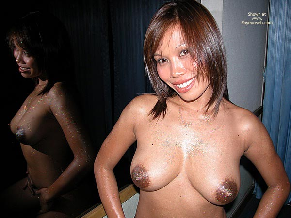 Huge Darg Nipples - Asian Girl, Nipples , Huge Darg Nipples, Large Areola, Mirror Reflection, Bbw Asian