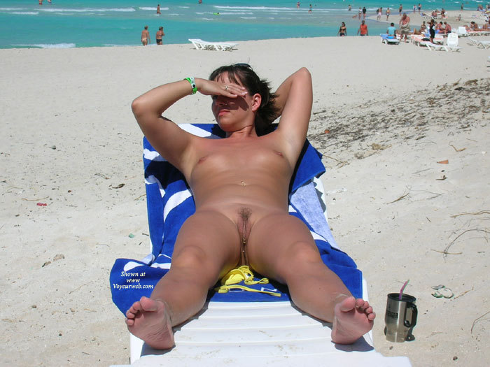 Nude On A Beach - Brown Hair, Nude Beach, Small Tits, Spread Legs, Beach Voyeur, Naked Girl, Nude Amateur , Firm Body, Shaved Armpits, Nude Sunbathing Girl, Pussy View, Spread Legs, Allover Tan