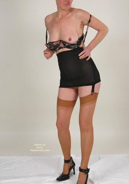 Pic #1 Claire And Her Nylons 2