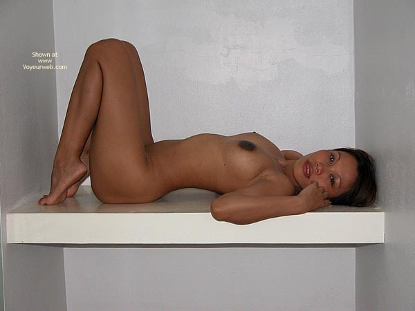 Large Dark Areolas , Large Dark Areolas, Lying On Her Back