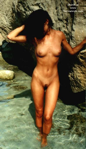 Pic #1 mi mujer en la playa 3