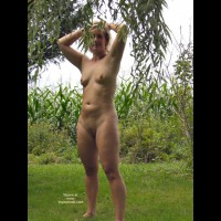 Jackielee  In The Backyard