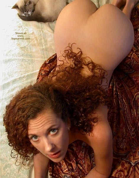 Red Hair - Red Hair , Red Hair, Big Hazel Eyes, Puss And Booty, Two Curled Pussies
