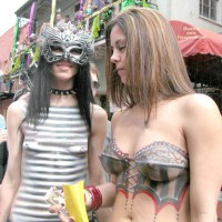 Body Paint Tits - Erect Nipples, Hard Nipple , Festival Titties, Painted Tits, Dressed In Paint, Perfect Tits, Candid Bodypaint Pose, Painted At Mardi Gra, A Daring Display, Outdoor Bodyart Shot, Party Time, Walking At Mardi Gras, Mardi Gras Body Painters, Painted Standing Girls