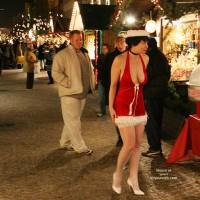 Julia At German Christmas Market