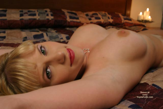 Bedroom Eyes - Nude Amateur , Every Man's Dream, Pleasant Smile, Lips And Nips, Very Cute, Dreamy Eyes, Reclining Nude Blond, Pretty Eyes, Reclining Blond - Erect Nipples