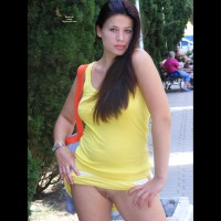 Bare Pussy In Public - Blue Eyes, Exhibitionist, Long Hair, Shaved Pussy, Hairless Pussy , Pussy On Street, Public Nudity, Standing In Public With Hands On Hips, Girl Showing Hairless Pussy In Public., Beautiful Long Hair, Cleanly Shaven Pussy, Smoking Hot, Yellow Dress Exibitionist, Proud Public Pussy, Blue Eyes And No Pnaties, Pantiless Shaved Pussy