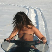 Nude On Snowmobile - Brunette Hair, Milf, Topless, Naked Girl, Nude Amateur , Naked Outside, Nude Snowmobiling, Topless On Snowmobile, Looking Away From Camera, Snowcat With Pussy, Topless Outdoor Snow, Smooth Nice Skin, Naked Milf
