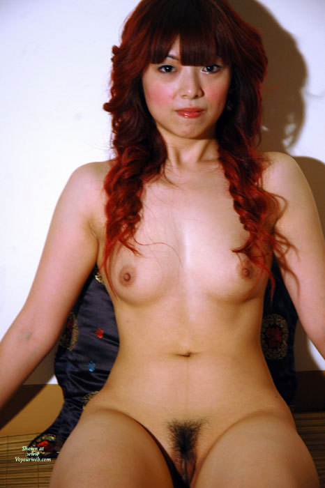 Nude Asian Model - Dark Hair, Long Hair, Red Hair, Small Breasts, Trimmed Pussy, Naked Girl, Nude Amateur, Small Areolas , Long Dark Red Curled Hair, Full Face Full Body, Very Hairy Trimmed Pussy, Full Nude Frontal, Dark Eyes, Asian Heritage, Small Lt Brown Areolas, Red Lipstick, Naked Asian