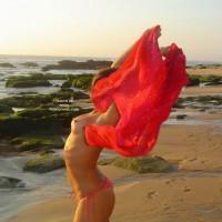 Erect Nipples - Erect Nipples, Topless Beach , Erect Nipples, Topless On Beach, Topless Bikini, Red Bikini Bottom