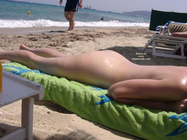 Pic #1Wife Nude On A Non Nude Beach
