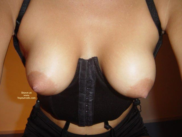 Torpedo Tits , Bomber Tits, Corset, Secured Tits, Pointy Nipples