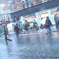 Dreengirl Naked Crossing Busy Street