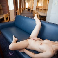 Spread-eagled In Public Library - Black Hair, Nude In Public, Pale Skin, Pubic Hair, Naked Girl, Nude Amateur, Spread Eagle , Naked On Couch In Library, Public Library, Asian Black Hair, Public Nudity, Sexy East Asian, Hairy Girl, Thin Body, Naked On A Sofa, Asian Black Pubes, Nude In Public Library, Pale Skin Color, Lying On Couch, Hairy Pussy