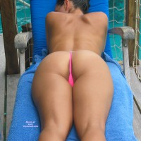 Sexy Ass Shot Of Wife - Brunette Hair, Hot Wife, Sexy Ass, Wife Ass , Cute Buttocks, All Over Tanning, Shaply Ass, Pink In The Crack, Perfect Button, Great Ass, Smooth Back, Pink Thong, Butt Up