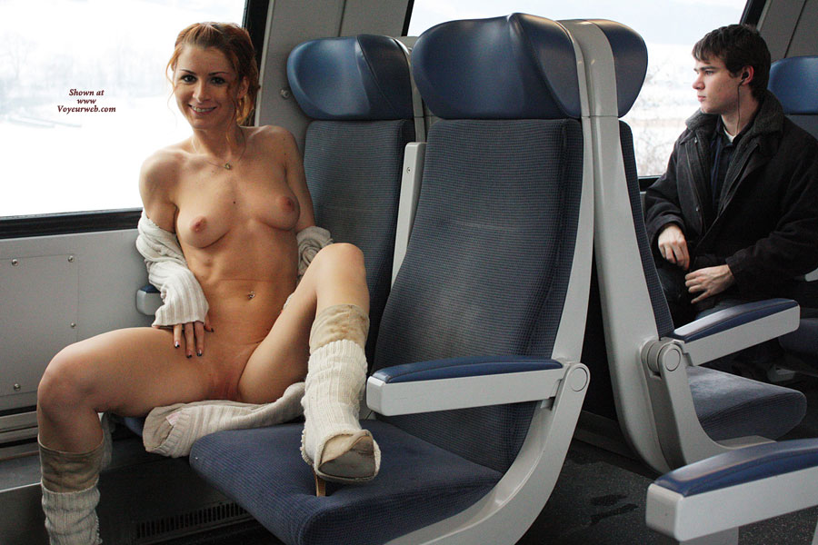 Girl Flashing In Train - Flashing, Nude In Public, Shaved Pussy, Small Breasts, Small Tits, Naked Girl, Nude Amateur , Slender Body, Slim Redhead Showing Off, Nude Train, Public Nudity In Train, Hot Naked Train Rider, Fully Nude On Public Train