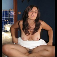 Nice Hairy Pussy - Brown Hair, Brunette Hair, Long Hair, Trimmed Pussy, Naked Girl, Nude Amateur , Towel Covering Belly, Trimmed Pussy In Bathroom, Long Brunette Hair, Sit Indian Style, Hairy Bush, Legs Crossed, Blond, Naked In Bathroom, Sitting Cross Legged, Brown Eyes