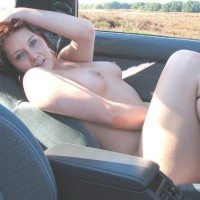 Reclining Nude In Carseat - Naked Girl, Nude Amateur , Airing Pussy In Car, Sexy In The Car, Round Firm Breasts, Shoe Straps On Thighs, Country Cruising, On Creclining In Car Seat Right Hand On Crotch Left Hand On Head In Field In Car, Girl & Car, Car Tits, Sexy Feminine Thighs