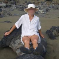 Nude Amateur:Plage De Sable Noir