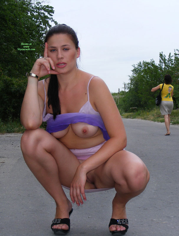 Tits And Pussy Showed In Public - Dark Hair, Exhibitionist, Flashing, Long Hair, Milf, Nude In Public, Perfect Tits, Naked Girl, Nude Amateur, Nude Wife , Medium Tits Exposed Under Uplifted Camisole, Showing Tits, Beaver Exposed In Public, Milf Outdoor, Mouth Open, Showing Pussy, Flashing In Public, Wearing Sandals, Exposed In Public, Sun Top, Squatting On Road Showing All, Squatting Woman