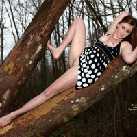 Friend dressed sexy:Heather In The Woods