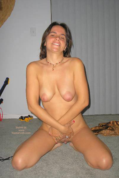 Brunette Naked On The Carpet - Big Nipples , Brunette Naked On The Carpet, Young Girl Showing Her Juicy Lips, Arms Crossed, Big Nipples, Pussy Flaps, Pussy Flaps And Breast
