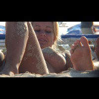 Beach Voyeur - Blonde Hair, Perky Tits, Topless Beach, Beach Tits, Beach Voyeur, Sexy Boobs , Naked On The Beach, Beautiful Sandy Nip(s), Sandy Legs, Nice Smile, Sandy Body On Beach, Pointy Tit, Sandy Tits