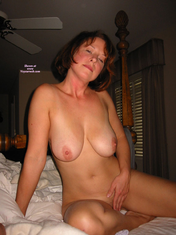 Bedroom MILF - Big Tits, Milf, Shaved Pussy, Naked Girl, Nude Amateur , Sitting On Bed, Hand Covering Pussy, Frontal View, Hand Over Pussy, Big Boobs, Older Woman, Nude In Hotel Room, Fully Naked, Handy Hides Pussy, Covering Herself