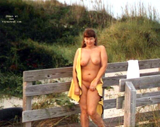 Pic #1 Purple Patty at a beach