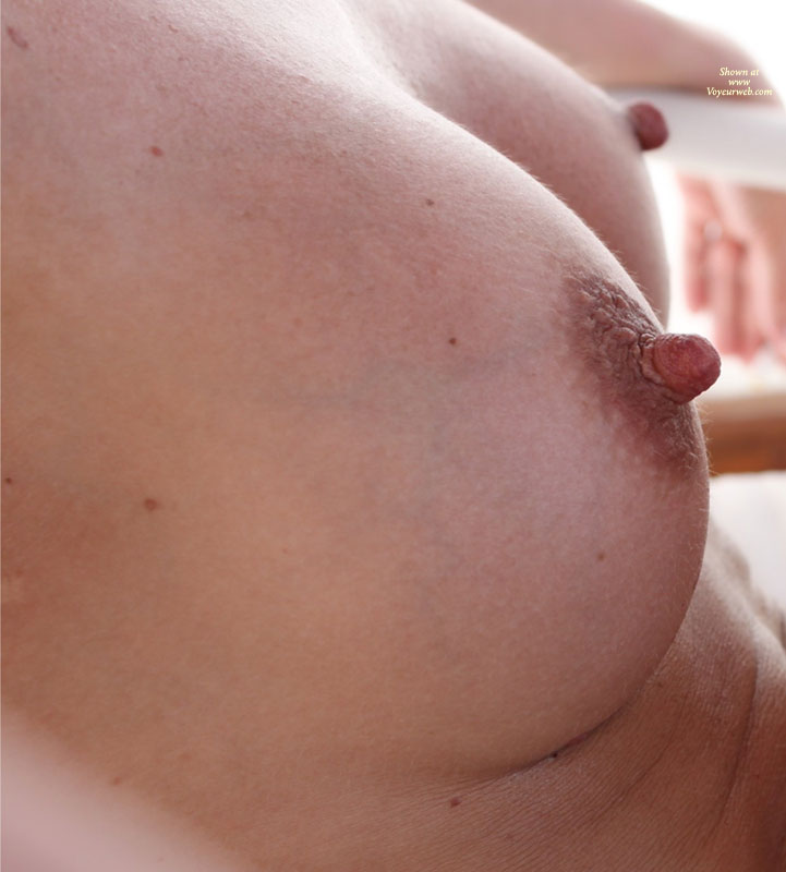 Stiff Nipples - Erect Nipples , Long Erected Nipples, Stiff Nips, Natural Breasts, Glass Cutter Nips