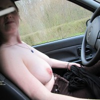 Topless Wife:On French Road