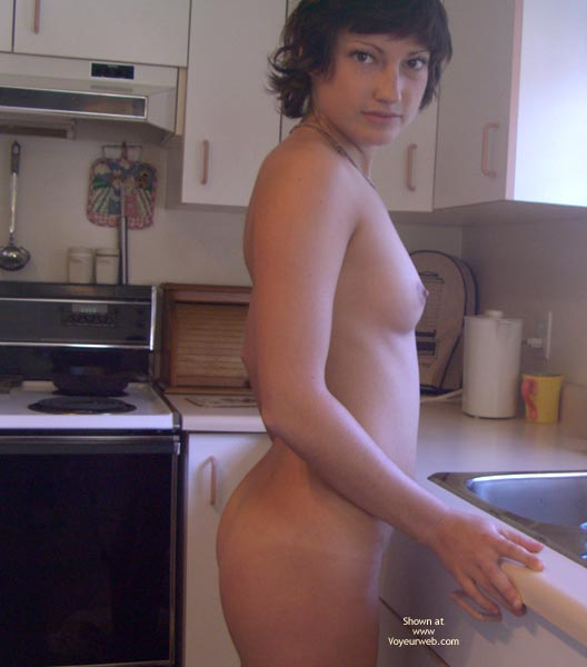 Kitchen - Small Boobs, Small Tits , Kitchen, Kiss The Cook, Small Tits, Nude Cooking, Naked In Kitchen, Small Boobs