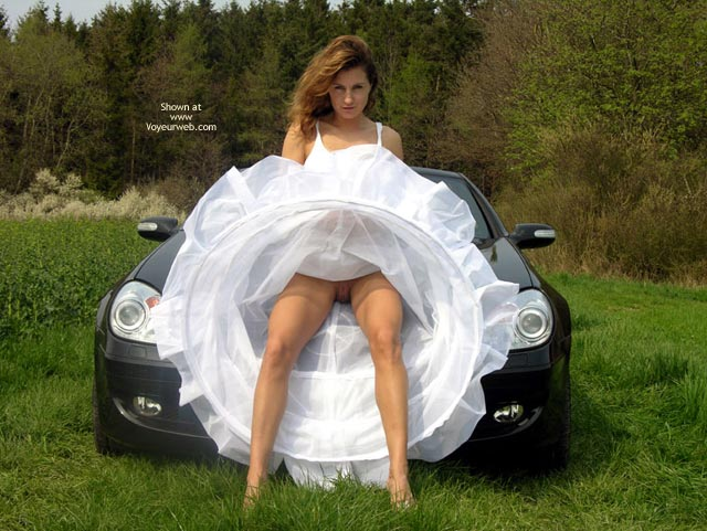 Out Doors , Out Doors, Cars, Pussy Flash, Honeymoon Bliss, Center Of The Circle Of Love, White Hoop Skirt, No Panties