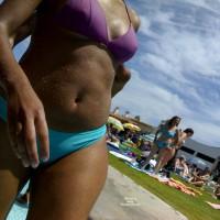Beach Voyeur:Pool In Algarve