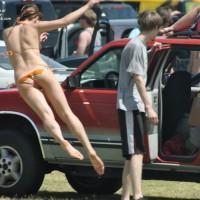 Street Voyeur:Coachella Fest Bikini