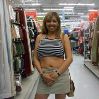 Topless Wife:*ST Nina With Short Top