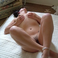 Nude Wife Cupping Her Tits - Naked Wife, Nude Amateur, Nude Wife , Boobs In Hand, Holding Boobs, A Sexy And Erotic Bush, Hairy Pussy, Hairy Bush, Pierced Bellybutton, Belly Tattoo, Squeezed Boobies, Laid Back And Ready For Action