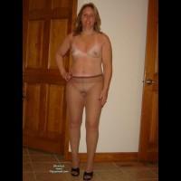 Nude Wife on heels:*NH Naked In Heels