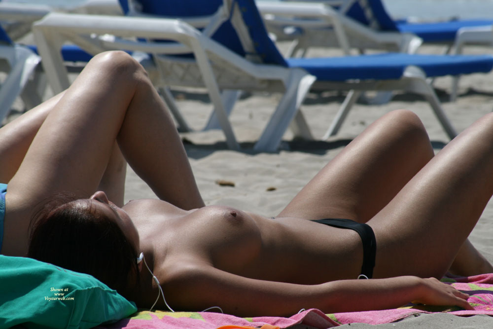 Beach Voyeur - Brunette Hair, Erect Nipples, Topless Beach, Beach Tits, Beach Voyeur , Sunbathing At Beach, Baking Her Tits, Tanned Brunette, Nice Tits, Beach Breasts, Perfect Breast, Sun Tan, Breastful Day