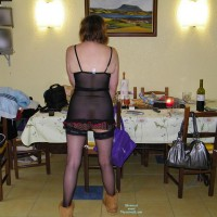 Topless Wife:In The Kitchen