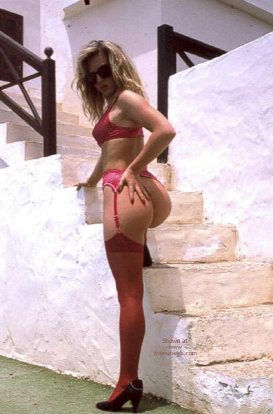 Pic #1Red Stockings Outdoors