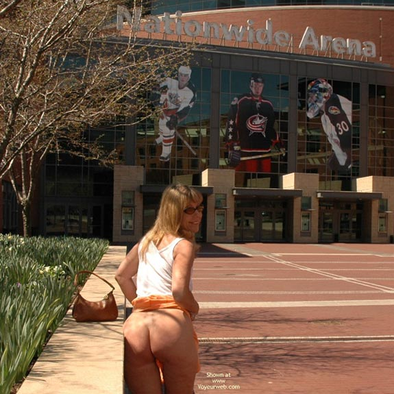 Optional Sporting Event - Flashing, Nude In Public , Optional Sporting Event, Showing Off In Public, Ass In Public, Sports Fan Entrance, Nude On Public Street, Bum Flash