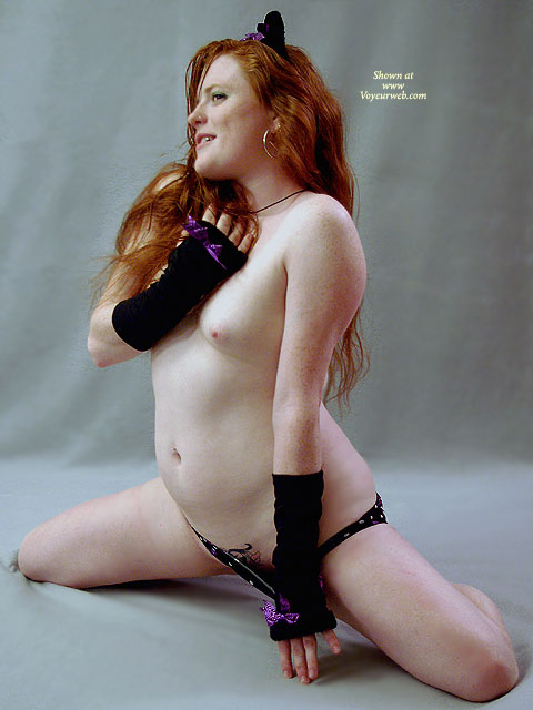 Pulling Down Underwear - Red Hair, Naked Girl, Nude Amateur , Fire Crotch, Nude Friend, Sitting On Knees, On Knees, Tattoo Pussy, Hairy Pussy, Hairy Bush, Strawberry Skin, Kitty Costume, Red Hair And Freckles