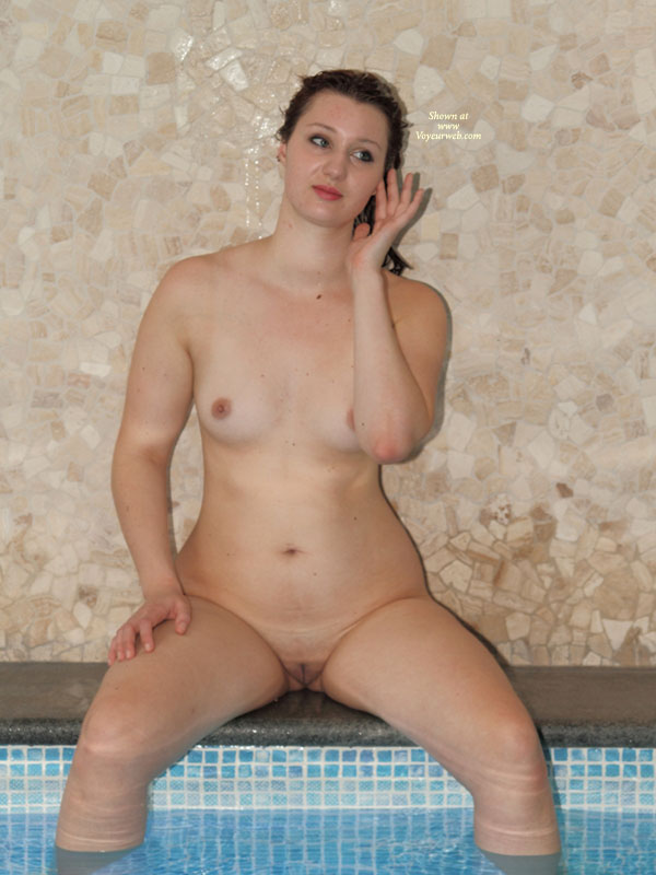 Sitting Naked On Hot Tub - Big Tits, Small Tits, Spread Legs, Hairless Pussy, Naked Girl, Nude Amateur , Nude Friend, Naked By The Pool, Hourglass Figure, Small Titties, Nude Girl By The Pool
