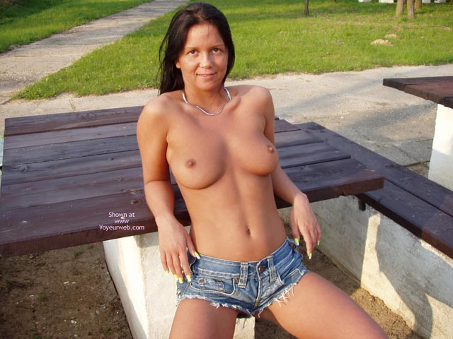 Daisy Dukes , Daisy Dukes, Topless In The Park
